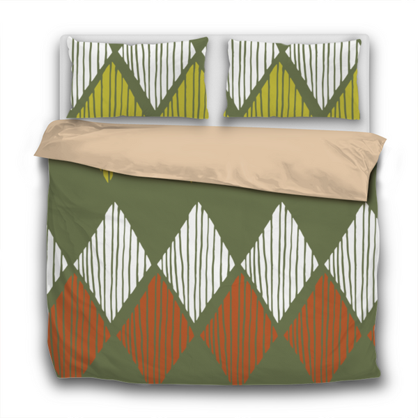 Duvet Set - 3pc Cover + Pillowcases - Fifties Inspired FI3