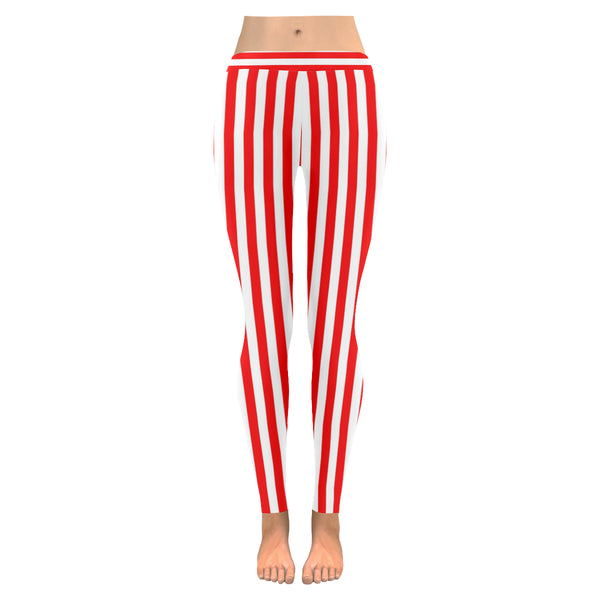 Candy Stripe All-Over Low Rise Leggings