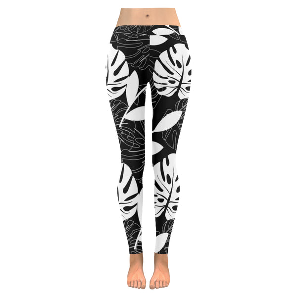 Fonda All-Over Low Rise Leggings