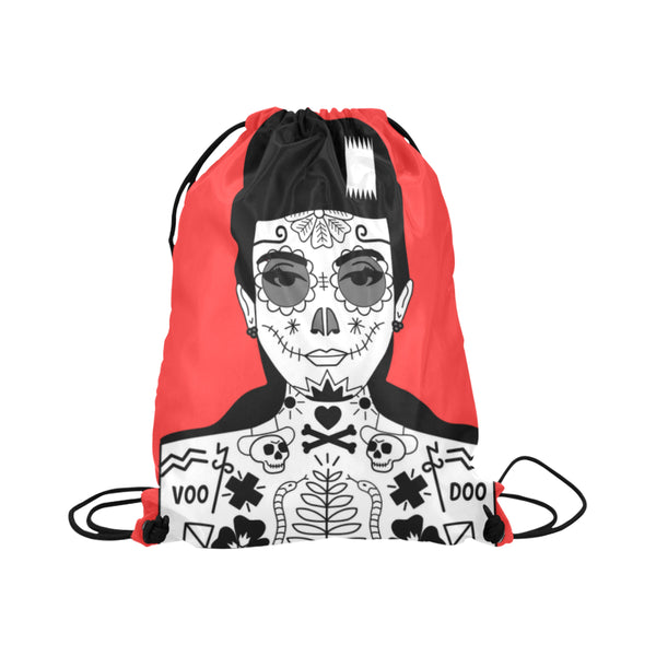 VooDoo Girl Drawstring Bag