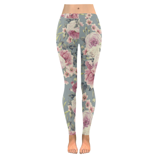 Antique Rose Low Rise Leggings