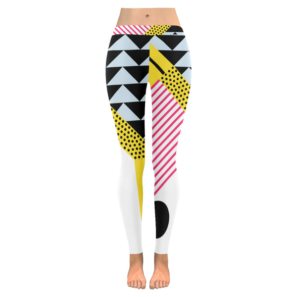 Cassette All-Over Low Rise Leggings