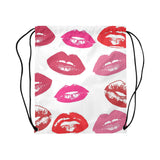 Kiss Drawstring Bag