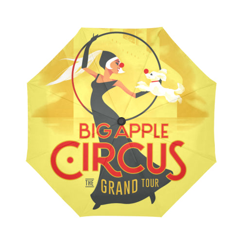 Big Apple Circus Automatic Foldable Umbrella