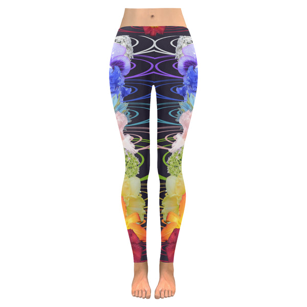 Fantasy Flora All-Over Low Rise Leggings