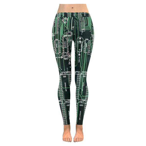 Circuit All-Over Low Rise Leggings