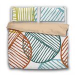 Duvet Set - 3pc Cover + Pillowcases - Fifties Inspired FI2