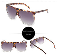 RG Oversize Flat Top Sunglasses or Frames Vintage Style Womens Eyewear | 15 Options to Choose From!