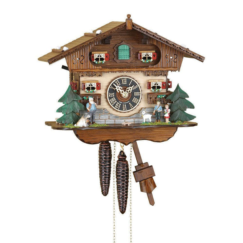 Cuckoo Clock Wood Craft Assembly Wooden Construction Clock Kit