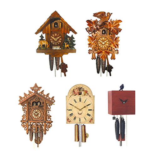 Five Types of Cuckoo Clocks - Which one do you like?