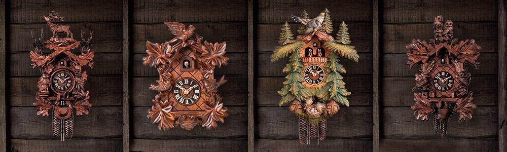 Carved Clocks