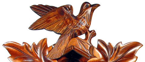 carved cuckoo clock