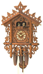 antique cuckoo clock black forest german