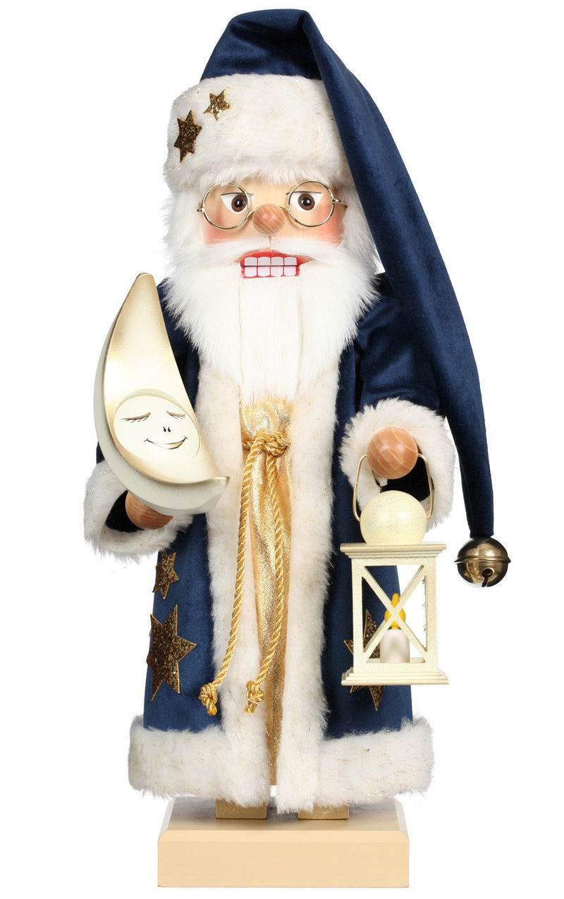 "Nutcracker - Goodnight Santa - 18.75""H x 9""W x 8""D"