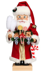 "Nutcracker - Candy Santa - Limited Edition - 18.25""H x 9""W x 8""D"