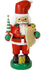 "Nutcracker - Santa - 14""H x 8""W x 7.5""D - German Cuckoo Clocks"