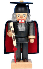 "Nutcracker - Graduate - 9""H x 4""W x 3.5""D - German Cuckoo Clocks"
