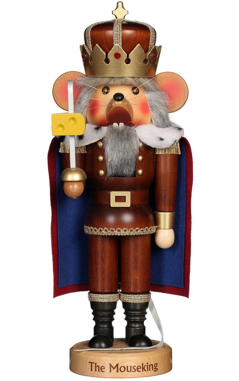 Christmas Nutcracker - Mouse King with Cheese