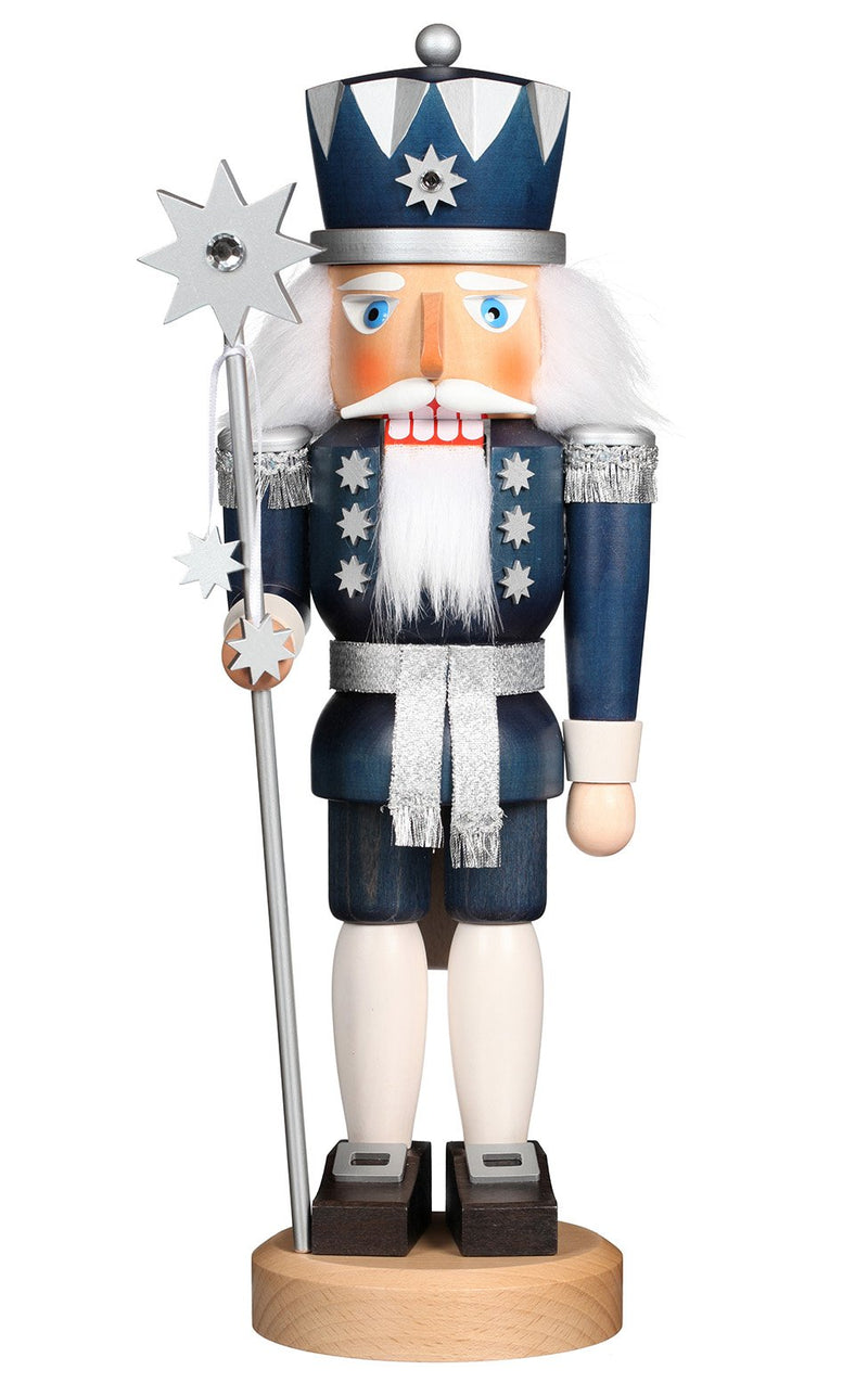 "Nutcracker - King of Stars - 15.2""H x 5.25""W x 4.25""D"