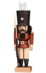 "Nutcracker - Soldier (Natural) - 11.5""H x 4""W x 3""D"