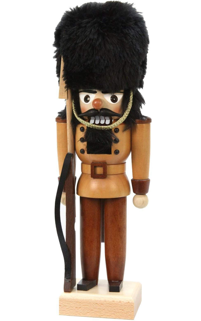 "Nutcracker - Soldier (Natural) - 12""H x 4""W x 3""D - German Cuckoo Clocks"