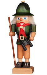 "Real German Nutcracker - Boy Scout - 10.6""H x 3.9""W x 3.5""D"