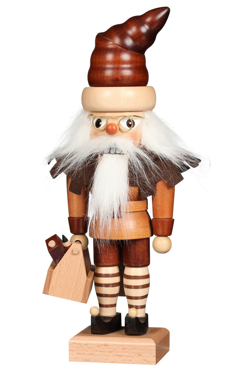 "Nutcracker - Elf (Natural) - 11.5""H x 3.75""W x 3""D"