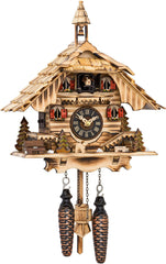 "Battery-operated Cuckoo Clock - Full Size - 11""H x 9.5""W x 7""D - German Cuckoo Clocks"