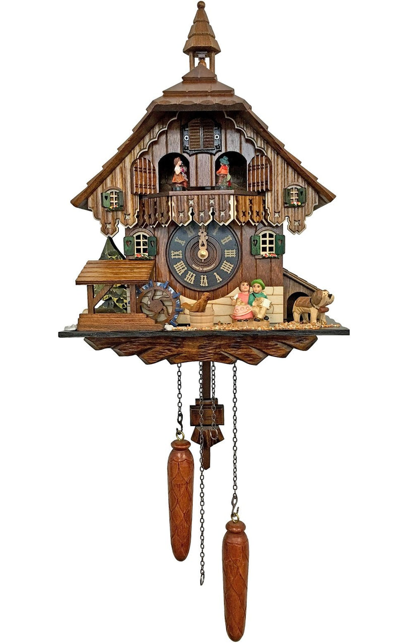 "Battery-operated Cuckoo Clock - Full Size - 14.5""H x 11""W x 6.5""D"