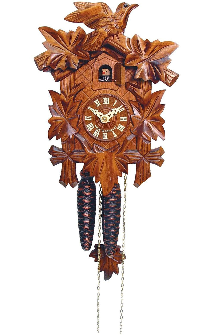 "Weight-driven Cuckoo Clock - Full Size - 9.25""H x 6.75""W x 6""D"