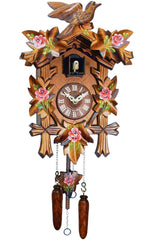 "Battery-operated Cuckoo Clock - Full Size - 14""H x 9.5""W x 6.5""D - German Cuckoo Clocks"
