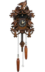 "Battery-operated Cuckoo Clock - Full Size - 9.25""H x 7.5""W x 6""D - German Cuckoo Clocks"