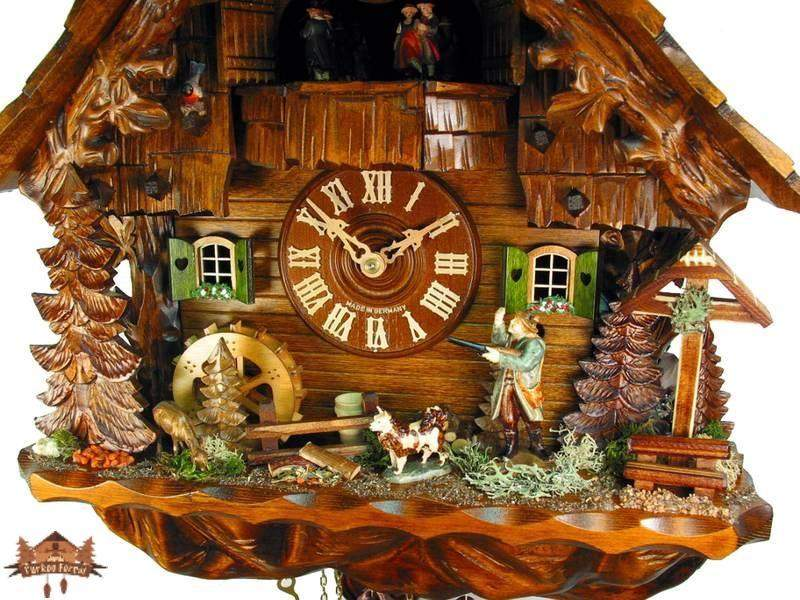 Cuckoo Clock 8-day-movement Chalet-Style 40cm by August Schwer