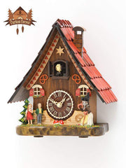 Quartz Cuckoo Clock Hänsel and Gretel 9,2 inch Quartz Cuckoo Clocks - German Cuckoo Clocks