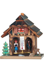 German Weather House 6-Inch - German Cuckoo Clocks
