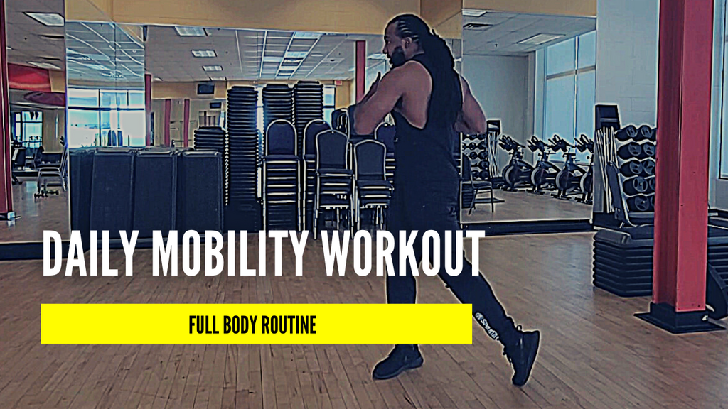 Faster Stronger Wiser Daily Mobility Workout