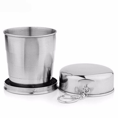 Stainless Steel Portable Folding Travel Cup