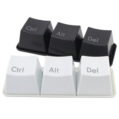 3 Piece Novelty 'Ctrl Alt Del' Snacks/Dipping Sauce Containers