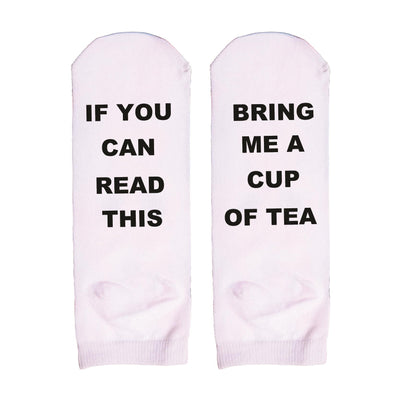 'IF YOU CAN READ THIS' Funny Novelty Socks