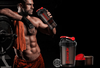 Protein Powder Shaker Fitness Bottle