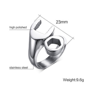 Stainless Steel Bolt/Wrench Ring