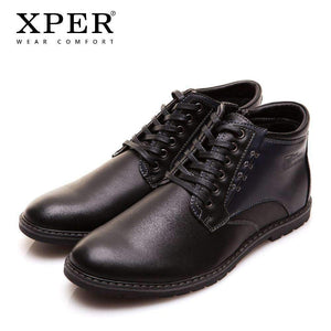 High-Cut Lace-up Men Casual Boots