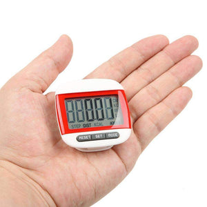 Mini Portable Step Counter (Pedometer) and Calorie Counter