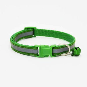 Colorful Pet Necklace/Collar (Glossy & Reflective) - For Dogs & Cats
