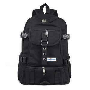 Casual Canvas Backpack - Multi-purpose Backpack/Handbags