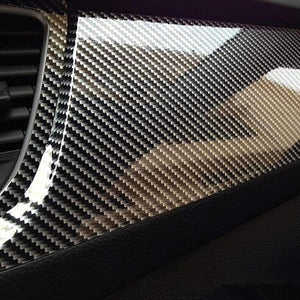 Car / Motorcycle Interior Carbon Fiber Styling Sheet