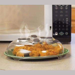 Hover Enabled Microwave Cover with Built-in Anti-splatter Guard