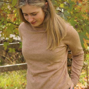 Bridge and Lord Classic Roll Neck Almond