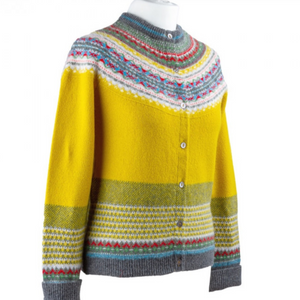 Eribe cardigan in picalilli, Scottish Knitwear at berrima's Overflow