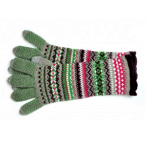 Eribe gloves in watercress